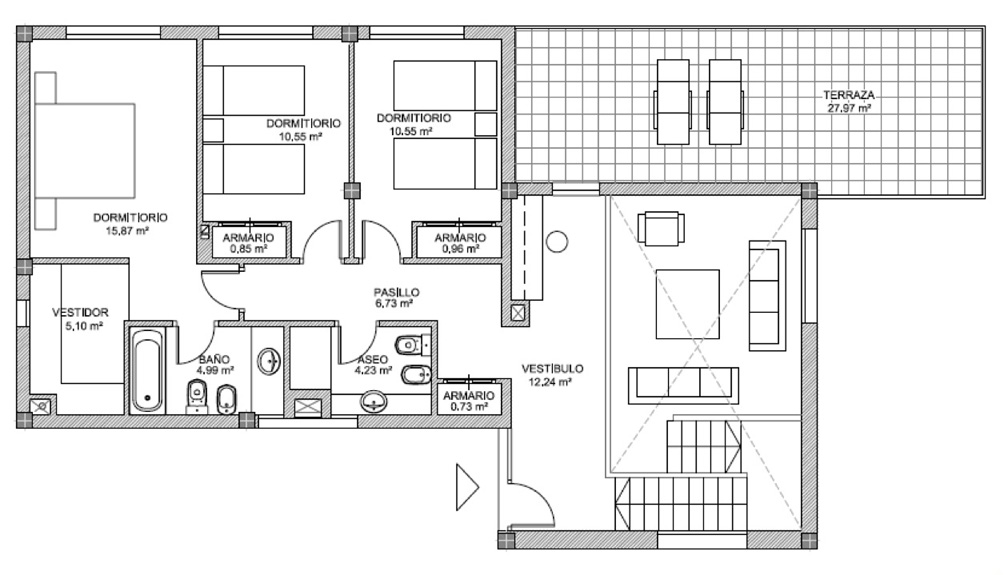 Planos Casas Unifamiliares Dise Os Arquitect Nicos
